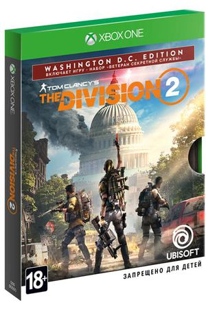 Xbox One игра Ubisoft Tom Clancy's The Division 2. Washington Edition