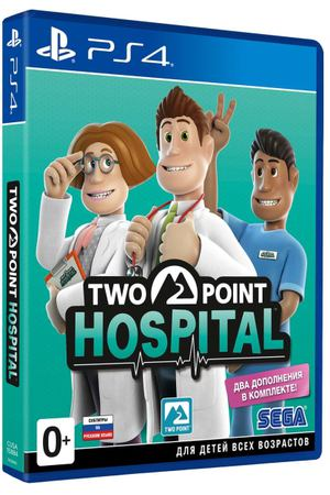 PS4 игра Sega Two Point Hospital