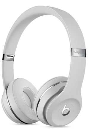 Наушники Bluetooth Beats Solo3 Wireless Satin Silver (MX452EE/A)