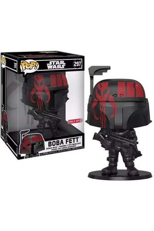 "Фигурка  POP! Bobble ""ECCC: Star Wars: w/case Boba Fett (Futura) (Exc)"""