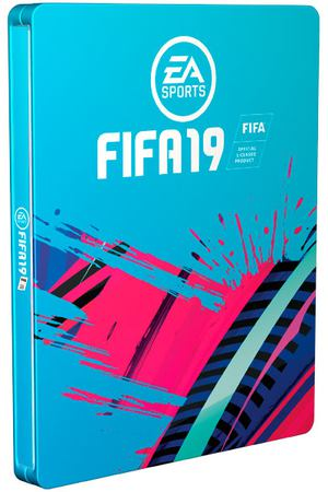 PS4 игра EA FIFA 19 Limited Steelbook Edition