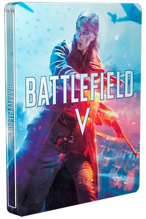 PS4 игра EA Battlefield V Limited Steelbook Edition