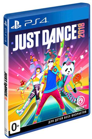 PS4 игра Ubisoft Just Dance 2018