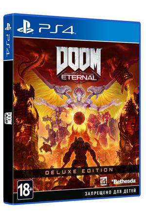 PS4 игра Bethesda DOOM Eternal. Deluxe Edition