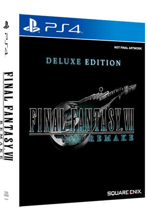 PS4 игра Square Enix Final Fantasy VII Remake. Deluxe Edition