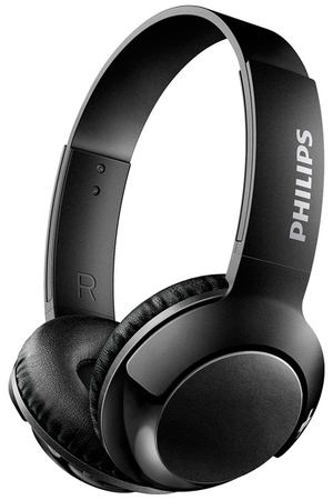 Наушники Bluetooth Philips Bass+ Black (SHB3075BK/00)