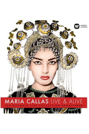 Виниловая пластинка Warner Music Classic Maria Callas:Maria Callas: Live And Alive
