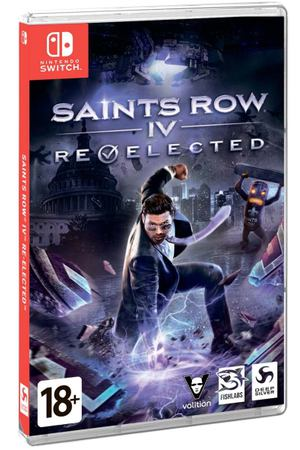 Игра Deep Silver Nintendo Saints Row IV Re-elected
