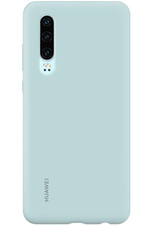 Чехол Huawei Silicon Car Case для Huawei P30, Light Blue