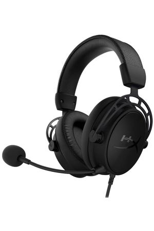 Игровые наушники HyperX Cloud Alpha S Black (HX-HSCAS-BK/WW)