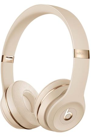 Наушники Bluetooth Beats Solo3 Wireless Satin Gold (MX462EE/A)