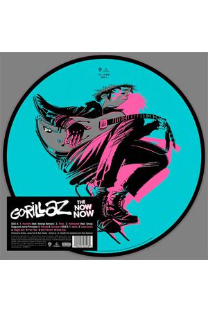 Виниловая пластинка Parlophone Gorillaz:The Now Now Limited Picture Vinyl