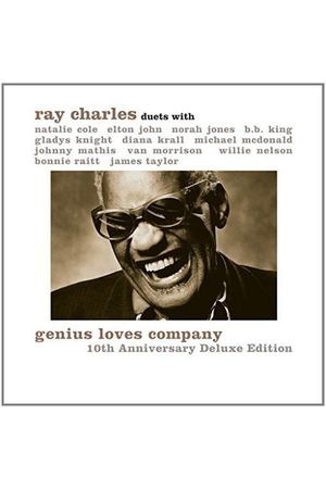 Виниловая пластинка Parlophone Ray Charles:Genius Loves Company 10th Anniversary