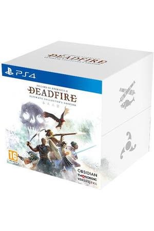 PS4 игра THQ Nordic Pillars of Eternity II: Deadfire. Collectors Edit