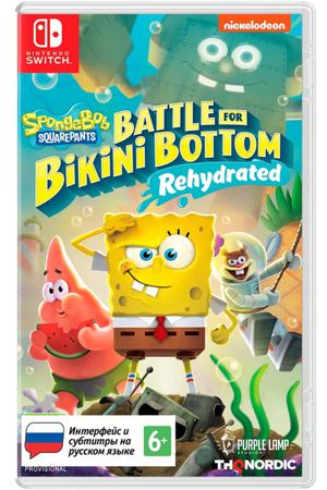 Игра THQ Nordic SBSP: Battle for Bikini Bottom-Rehydrated СИ