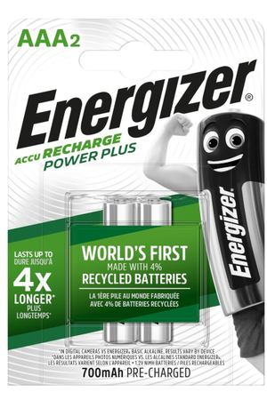 Аккумулятор Energizer Power Plus AAA 700mAh 2шт.