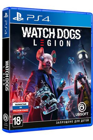 PS4 игра Ubisoft Watch_Dogs: Legion