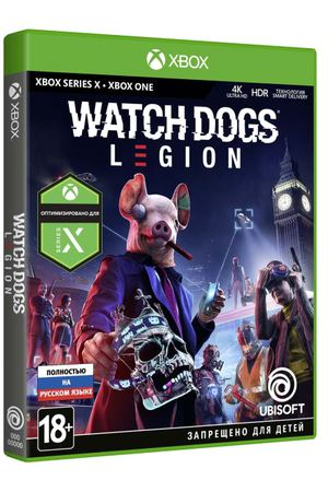 Xbox One игра Ubisoft Watch_Dogs: Legion