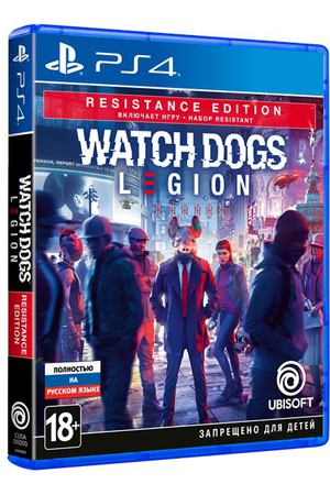 PS4 игра Ubisoft Watch_Dogs: Legion. Resistance Edition