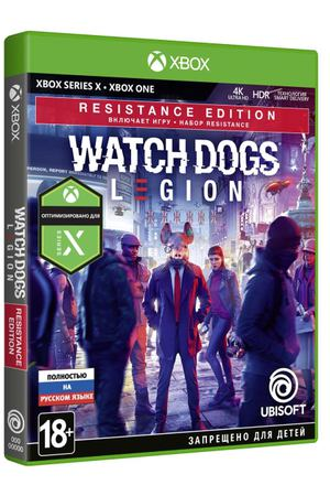 Xbox One игра Ubisoft Watch_Dogs: Legion. Resistance Edition
