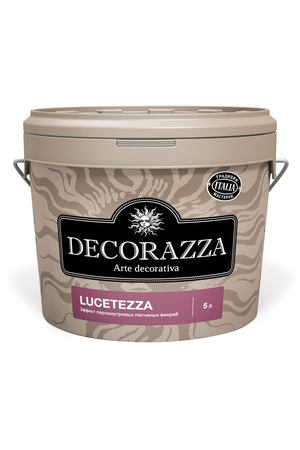 Краска Decorazza Декор Lucetezza база Argento 5 кг (DLC001-5)