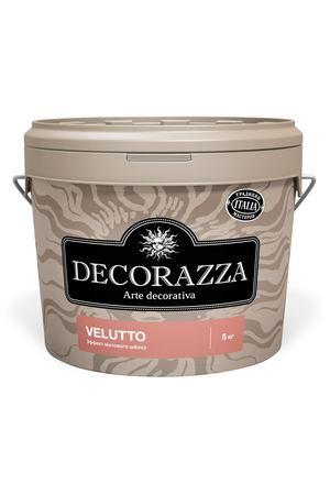 Краска Decorazza velluto бархат 5 кг (DVT001-5)