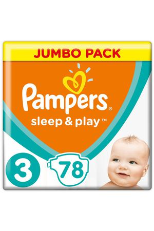 Подгузники Pampers Sleep&Play midi 6-10 кг 78 шт