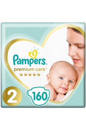 Подгузники Pampers  Premium Care 4-8 кг 160 шт