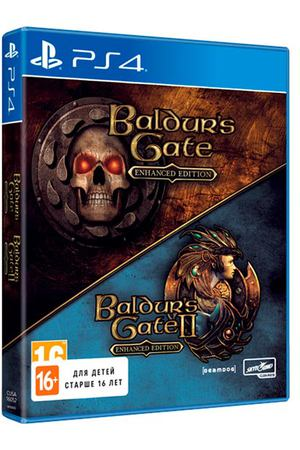 PS4 игра Skybound Baldur's Gate 1/2: Enhanced Edition
