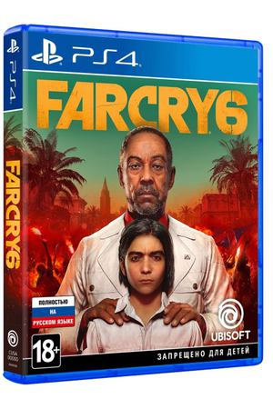 PS4 игра Ubisoft Far Cry 6