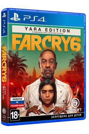 PS4 игра Ubisoft Far Cry 6 Yara Edition