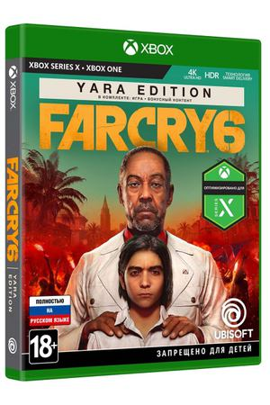 Xbox One игра Ubisoft Far Cry 6 Yara Edition