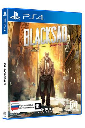 PS4 игра Microids Blacksad: Under The Skin Limited Edition