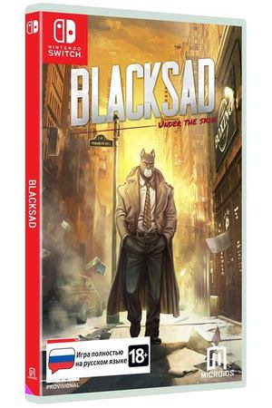 Игра Microids Nintendo Blacksad: Under The Skin Limited Edition