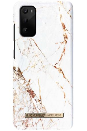 Чехол iDeal Of Sweden Galaxy S20 Carrara Gold (IDFCA16-S11E-46)