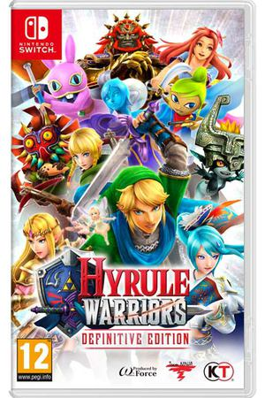 Игра Nintendo Switch Hyrule Warriors Definitive Edition