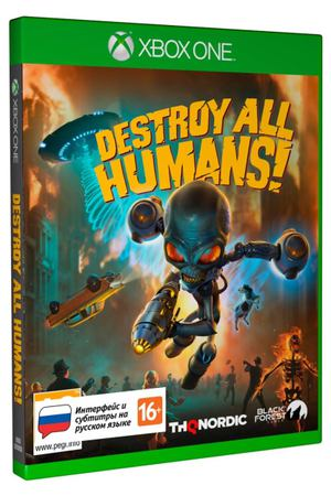 Xbox One игра THQ Nordic Destroy All Humans! Стандартное издание