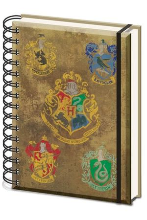 Блокнот Harry Potter (Hogwarts Crest&Four Houses) Pyramid