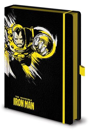 Блокнот Marvel Comics (Iron Man Mono) A5 Pyramid