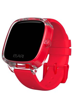 Часы с GPS трекером Elari KidPhone Fresh Red (KP-F)