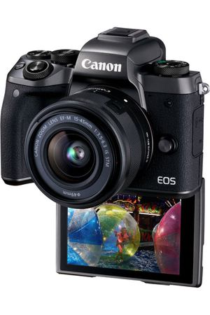 Фотоаппарат системный Canon EOS M5 EF-M15-45 IS STM Kit