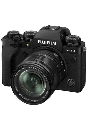 Фотоаппарат системный Fujifilm X-T4 Kit 18-55mm Black