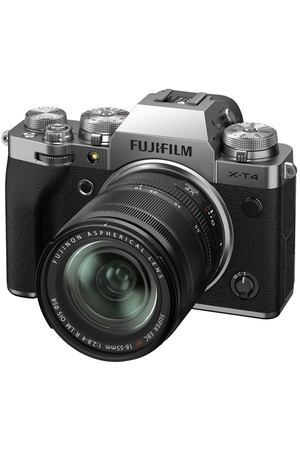 Фотоаппарат системный Fujifilm X-T4 Kit 18-55mm Silver