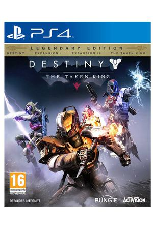 PS4 игра Activision Destiny: The Taken King. Legendary Edition