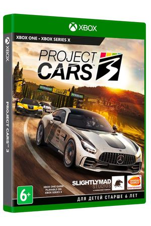 Xbox One игра Bandai Namco Project CARS 3