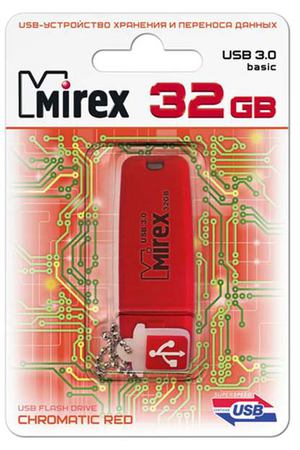 Флеш-диск Mirex 32GB Chromatic Red 3.0 (13600-FM3СHR32)
