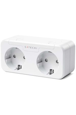 Умная розетка Satechi Homekit Dual Smart (ST-HK20AW-EU)