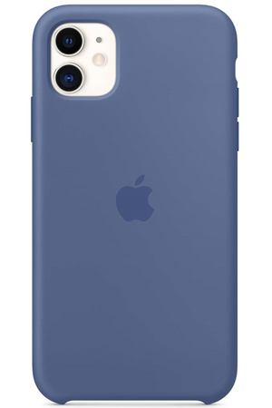 Чехол Apple iPhone 11 Silicone Case Linen Blue (MY1A2ZM/A)