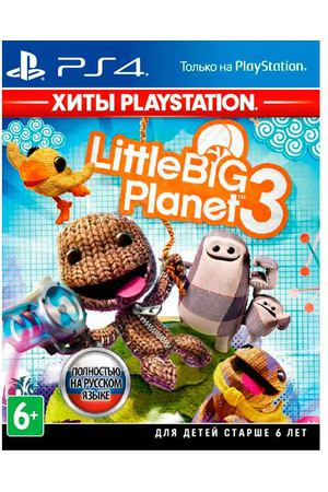 PS4 игра Sony LittleBigPlanet 3. Хиты PlayStation
