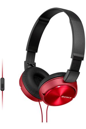 Наушники накладные Sony MDR-ZX310AP Red